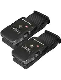 Travel Luggage Strap Adjustable Suitcase Packing Belt with TSA Combination Lock