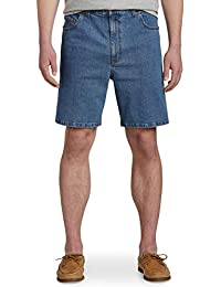 by DXL Big and Tall Continuous Comfort Denim Shorts - Updated Fit