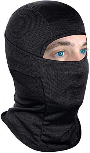 Zwoos Sturmhaube Gesichtsbedeckung Vollgesichtsbedeckung Für Motorrad Ski Radfahren Atmungsaktiv Uv Schutz Staubdicht Auto