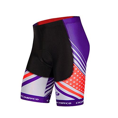 Cheap CYCOBYCO Men's Cycling Shorts 4D Padded Shockproof MTB Bicycle Road Bike Half Pants(CY631,X-Large)