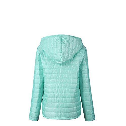 Women Sleeve Cardigan Down Hooded Long Light Lightweight Hoodie Ultra Clearance Winter Sweatshirt Sale Womens Jacket Coats DEELIN Top Green Ladies c4WCpwYqq
