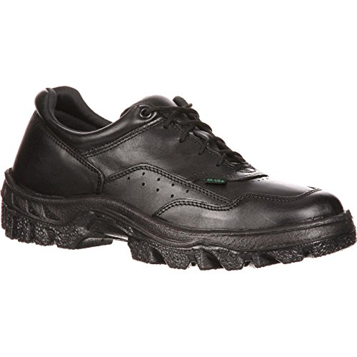 (Rocky Duty Men's TMC Athletic Oxford,Black,10 W)