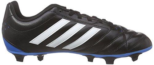 adidas Goletto V FG, Botas de Fútbol Unisex Niños Negro (Core Black/Ftwr White/Solar Blue2)