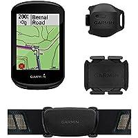 Ciclocomputador com GPS Garmin Edge 830 Bundle TouchScreen com Mapeamento de Informações com Monitor Cardíaco e Sensor…