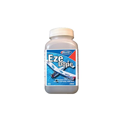DELUXE MATERIALS DLMBD42 Eze Dope, Tissue Shrink, 250ml