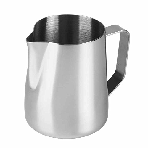 Kabalo 1000ml Stainless Steel Milk Frothing Jug for Coffee, Latte, Café & Cappuccino