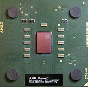 AMD Duron 1600 mhz DHD1600DLV1C Applebred CPU FSB 266 mhz Socket A/462 - sin ventilador
