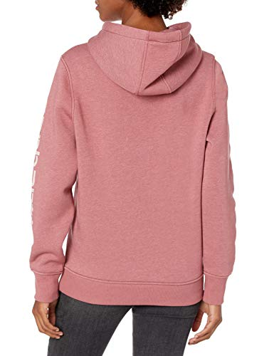 Carhartt Women's Clarksburg Graphic Sleeve Pullover Sweatshirt (Regular and Plus Sizes)