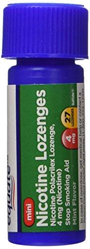Equate Nicotine Lozenge Compare Nicorette product image