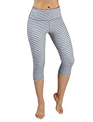 Wndsyn High Waist Out Pocket Yoga Capris Pants Tummy Control Workout Running 4 Way Stretch Yoga Capris Leggings Xx Large Printcapris926 Sketchline