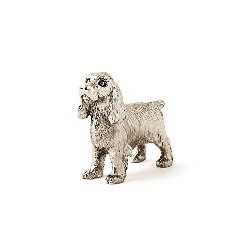 English Cocker Spaniel Made in UK Artistic Style Dog Figurine Collection ()