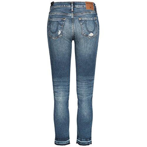 True Religion Jeans - Halle Super Skinny Blau CBtpbk