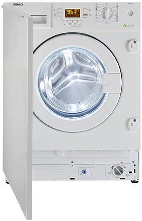 Beko WMI 81242 - Lavadora (Integrado, A++, A, B, Color blanco ...