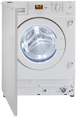 Beko WMI 81242 - Lavadora (Integrado, A++, A, B, Color blanco, Carga frontal)