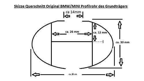 G30 Original BMW 5er Limousine Dachtr/äger Neuer BMW 5er Grundtr/äger 82712360951 2360951