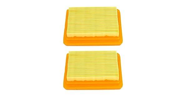 Amazon.com: nimtek paquete de 2 filtro de aire/limpiador ...