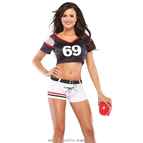 Sexy Female Football Player Costume