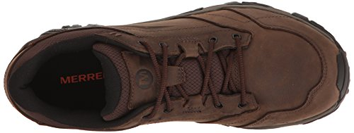 Merrell Mens Moab Adventure Lace Hiking Shoe Dark Earth