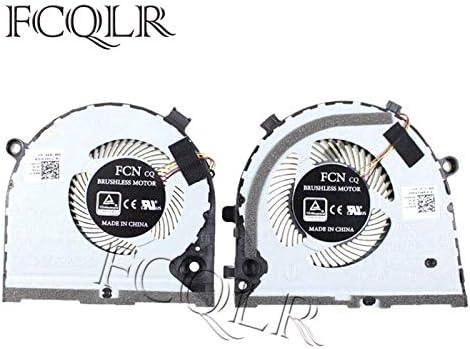 FCQLR Ordenador portátil enfriamiento Ventilador para DELL inspiron Game G3 G3-3579 3779 G5 15 5587 Notebook enfriamiento 0TJHF2 0GWMFV TJHF2 GWMFV Lefr+Right Ordenador portátil Ventilador: Amazon.es: Electrónica
