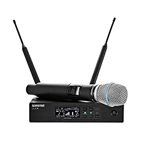 Shure QLXD24/B87A Handheld Wireless System with BETA 87A Vocal Microphone, G50