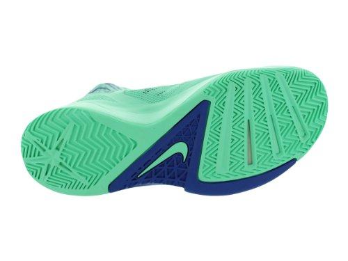 Nike Hommes Zoom Hyperfuse 2013 Basket Chaussures Vert Lueur / Jeu Royal