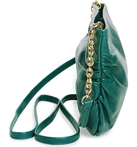 Hobo Belle Green Leather Crossbody Bag Teal wzfn0vxzq