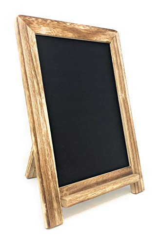Chalkboard Sign with Rustic Wood Frame 13
