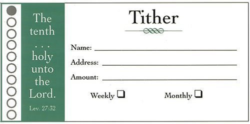 Offering Envelope-Tither (Package of 100) (Package of 100) ()