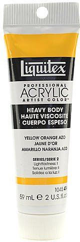 Liquitex Heavy Body Professional Artist Acrylic Colors (Yellow Orange Azo) 1 pcs sku# 1829458MA