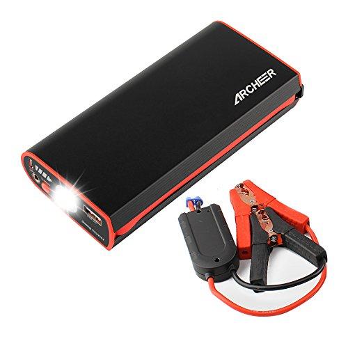 Archeer Portable Flashlight External Emergency