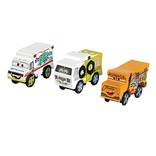 KidKraft 17216 Disney® Pixar Cars 3 3-Pack - Thunder Hollow. Dr. Damage, Miss Fritter and Arvy are back and ready to race.