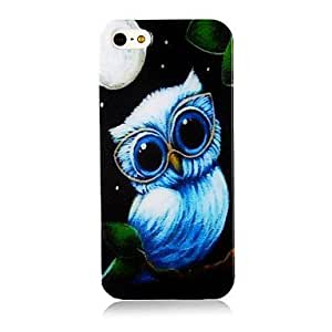 SUMCOM Lovely Nightingale Pattern Silicone Soft Case for iPhone4/4S