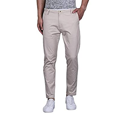 TURMS Stain Repellent & Anti Odour Cotton Chino Trouser for Men