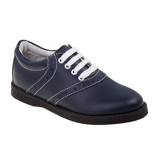 Academie CHEER-CM-V Saddle School Shoes, Navy - Medium - Size 12