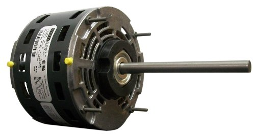 Fasco D721 5.6-Inch Direct Drive Blower Motor, 1/4 HP, 115 Volts, 1075 RPM, 3 Speed, 4.8 Amps, OAO Enclosure, Reversible Rotation, Sleeve Bearing