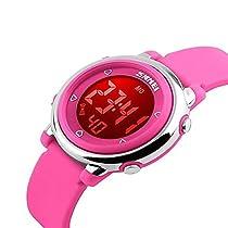 Kids Digital Watch Boy Girls Outdoor Sports LED Alarm Stopwatch Childrens Dress Wristwatches