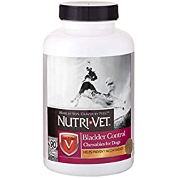Nutri-Vet Bladder Control Liver Chewables for Dogs, 90 count