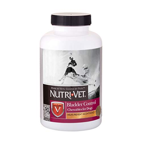 Nutri-Vet Bladder Control Liver Chewables for Dogs, 90 - 90 Count Chewable