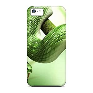 Durable 3d Snake Back Cases/covers For Iphone 5c