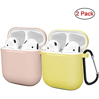 Amazon.com: AirSha Compatible for AirPods Case with Keychain ...