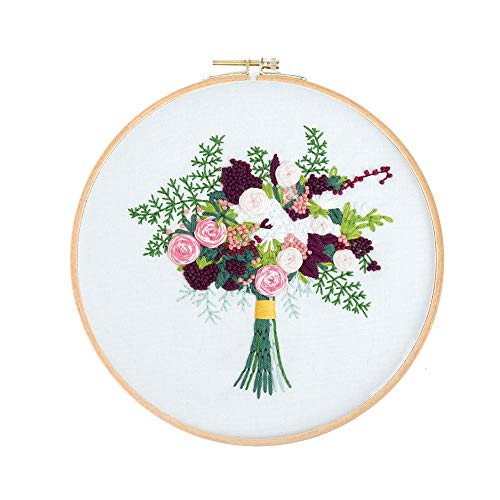 Embroidery Kit 3D Embroidery Pattern Beginner and Adults Cross Stitch Kits
