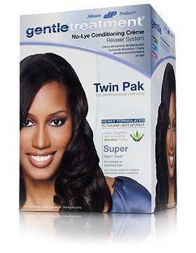 Gentle Treatment Hair Relaxer (Gentle Treatment Relaxer Super Twin Pak No-lye)