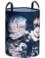 Wenko wasmand Peony, polyester, 55 L, meerkleurig, Ø 35 x 45 cm