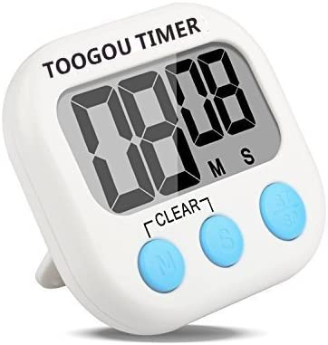 LCD Digital Kitchen Cooking Timer Count-Down Up Clock Loud Alarm Magnetic