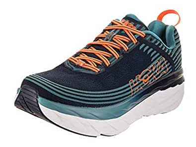 HOKA ONE ONE Men's Bondi 6 Black Iris/Storm Blue Running Shoe 11 Men US