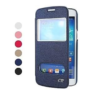 CECT STOCK Sólido Cuero Color superior de la PU de cuerpo completo del caso protector con el soporte y la ventana para Samsung Galaxy Gran 2/G7106 , Oro