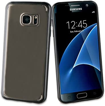 Muvit MUBMC0132 - Funda para Samsung Galaxy S7, Color Negro: Amazon.es: Electrónica