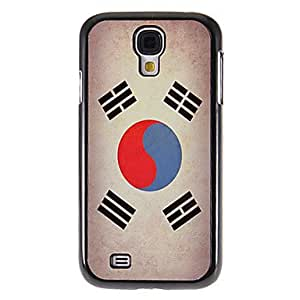 HJZ Flag of Korea Pattern Mirror Smooth Back Hard Case with HD Screen Film 3 Pcs for Samsung Galaxy S4 I9500