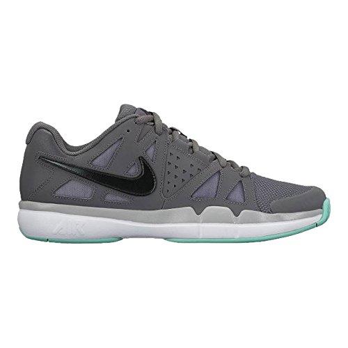 NIKE Men's Air Vapor Advantage Tennis Shoes (11, Dark Grey/Black-Wolf Grey)