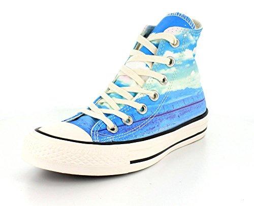 Converse All Star Hi Can Graphics - Zapatillas abotinadas Mujer SPRAY PAINT BLUE/MOTEL POOL